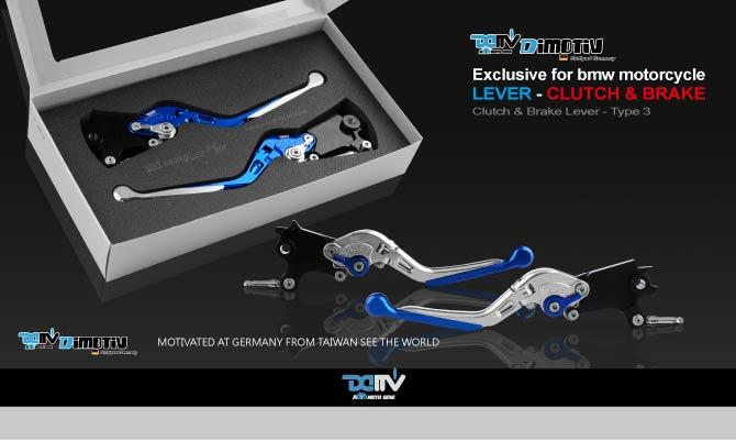 Exclusive BMW Type3 Bi-Folding & Extension Lever Sets (Adapter are included)(Sold in pairs)